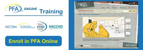 Enroll in PFA Online